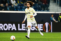 February 21, 2019 - Saint Petersburg, Russia - Sadik Ciftpinar of Fenerbahce SK in action during the UEFA Europa League Round of 32 second leg match between FC Zenit Saint Petersburg and Fenerbahce SK on February 21, 2019 at Saint Petersburg Stadium in Saint Petersburg, Russia. (Credit Image: © Mike Kireev/NurPhoto via ZUMA Press)