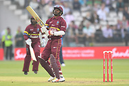 M.N. Samuels of West Indies during the International Twenty/20 match at Lord's, London<br /> Picture by Simon Dael/Focus Images Ltd 07866 555979<br /> 31/05/2018