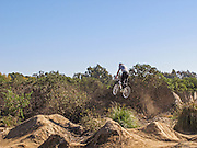 BMX Bicycle Jumps at Talbert Regional Park in Costa Mesa