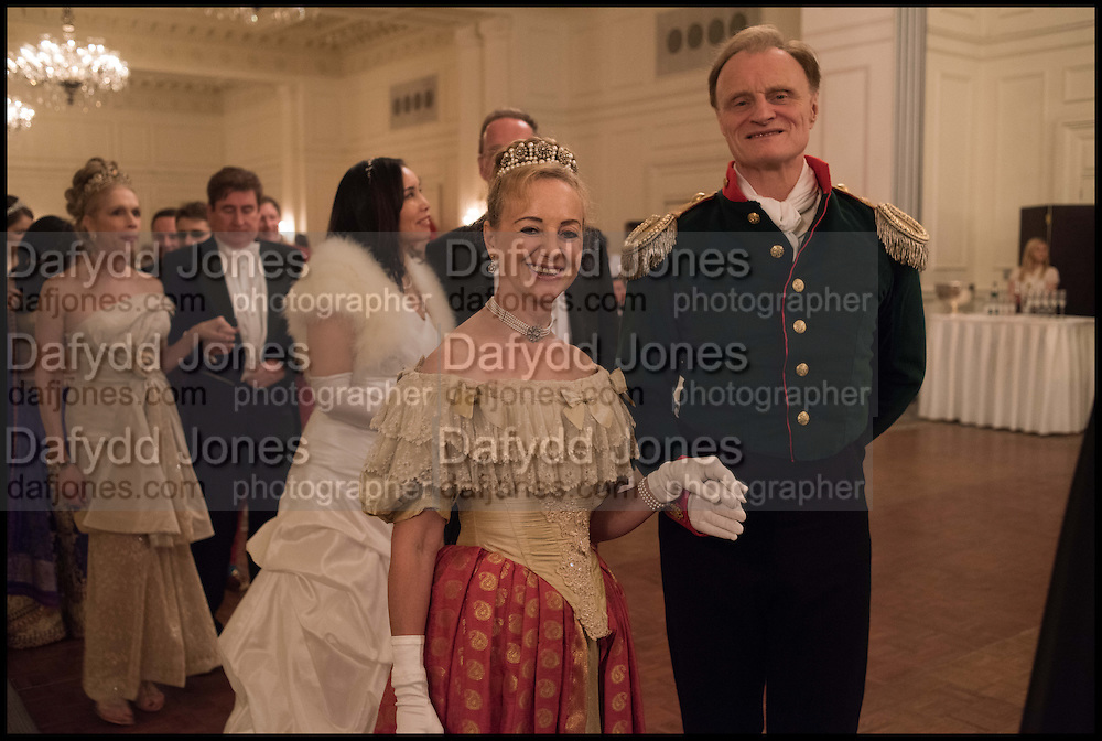 MR. AND MRS. CHRISTOPHER ARKELL, The St. Petersburg Ball. In aid of the Children's Burns Trust. The Landmark Hotel. Marylebone Rd. London. 14 February 2015. Less costs  all income from print sales and downloads will be donated to the Children's Burns Trust.