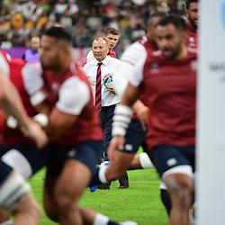 England head coach Eddie JONES during the Rugby World Cup 2019 Quarter Final match between England and Australia on October 19, 2019 in Oita, Japan. (Photo by Dave Winter/Icon Sport) - Eddie JONES - Oita Stadium - Oita (Japon)