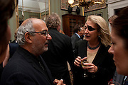 ALAN YENTOB; MARIE COLVIN, David Campbell and Knopf host the 20th Anniversary of the revival of Everyman's Library. Spencer House. St. James's Place. London. 7 July 2011. <br /> <br />  , -DO NOT ARCHIVE-© Copyright Photograph by Dafydd Jones. 248 Clapham Rd. London SW9 0PZ. Tel 0207 820 0771. www.dafjones.com.