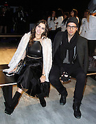 Sophie Simmons and Nick Simmons attend the Charlotte Ronson presentation during the Mercedes-Benz Fall/Winter 2015 shows at the Pavilion in Lincoln Center in New York City, New York on February 13, 2015.