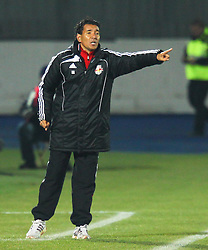04.12.2011, Stadion, Wiener Neustadt, AUT, 1. FBL, SC Wiener Neustadt vs RB Salzburg, im Bild Ricardo Moniz, (Red Bull Salzburg, Headcoach)  during the Austrian Bundesliga Match, SC Wiener Neustadt against RB Salzburg, Stadium, Wiener Neustadt near Vienna, Austria on 2011-12-04, EXPA Pictures © 2011, PhotoCredit: EXPA/ S. Woldron