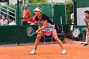 Elise Mertens (bel) during the Roland Garros French Tennis Open 2018, day 2, on May 28, 2018, at the Roland Garros Stadium in Paris, France - Photo Pierre Charlier / ProSportsImages / DPPI
