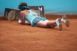 May 8, 2018 - Madrid, Spain - Spanish Carla Suarez during Mutua Madrid Open 2018 at Caja Magica in Madrid, Spain. May 09, 2018. (Credit Image: © Coolmedia/NurPhoto via ZUMA Press)