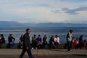 costanera de la ciudad de Puerto montt. Puerto Montt, Chile. 18-11-2012 (Alvaro de la Fuente/Triple.cl)