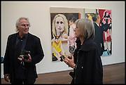 ERIC FISCHL; GINNY NEEL;Eric Fischl, Art Fair paintings. pv. Victoria Miro Fine art. Wharf Rd. London. 13 October 2014.