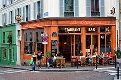 FRANCE PARIS 27JUL07 - Le Progres cafe and restaurant in Montmatre, a trendy area of Paris.. . jre/Photo by Jiri Rezac. . © Jiri Rezac 2007. . Contact: +44 (0) 7050 110 417. Mobile:  +44 (0) 7801 337 683. Office:  +44 (0) 20 8968 9635. . Email:   jiri@jirirezac.com. Web:    www.jirirezac.com. . © All images Jiri Rezac 2007 - All rights reserved.