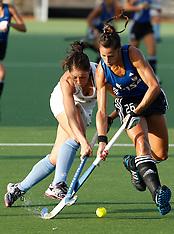 Auckland-Hockey, New Zealand v Argentina, test 2