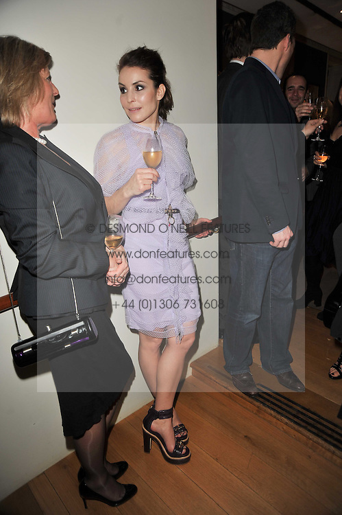 NOOMI RAPACE at the BAFTA Nominees party 2011 held at Asprey, 167 New Bond Street, London on 12th February 2011.