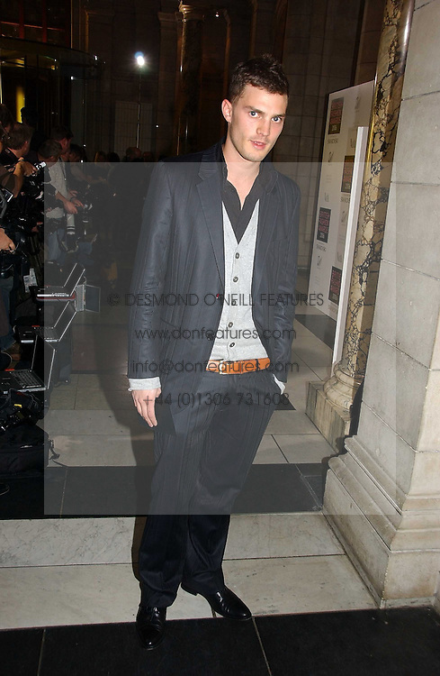 JAMIE DORNAN at the British Fashion Awards 2006 sponsored by Swarovski held at the V&A Museum, Cromwell Road, London SW7 on 2nd November 2006.<br />