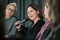14 JAN 2019, BERLIN/GERMANY:<br /> Annalena Baerbock, MdB, B90/Gruene Budnesvorsitzende, Veranstaltung der Konrad-Adenauer-Stiftung, KAS, &quot;Frauenpolitik - Auftrag fuer morgen!&quot;, Sheraton Hotel <br /> IMAGE: 20190114-01-110