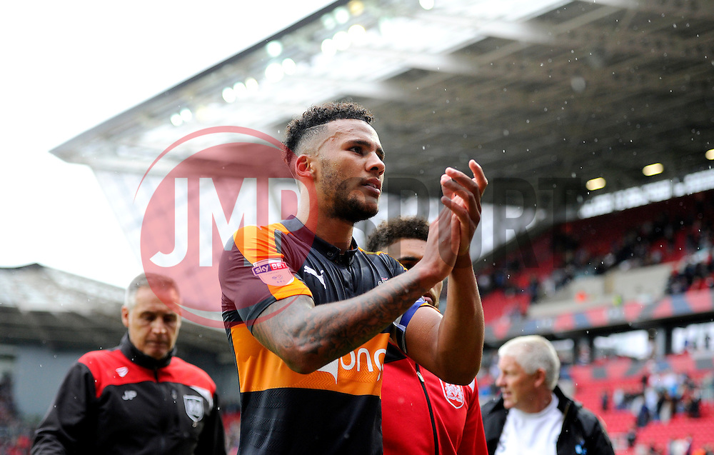 Jamaal Lascelles of Newcastle United  - Mandatory by-line: Joe Meredith/JMP - 20/08/2016 - FOOTBALL - Ashton Gate - Bristol, England - Bristol City v Newcastle United - Sky Bet Championship