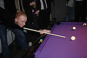 "Rufus Abbott. Official Pre-Brit Awards 2005 Pool Tournament"" at The Sanderson Hotel February 8, 2005 in London. The party is hosted by Esquire Magazine ONE TIME USE ONLY - DO NOT ARCHIVE  © Copyright Photograph by Dafydd Jones 66 Stockwell Park Rd. London SW9 0DA Tel 020 7733 0108 www.dafjones.com"
