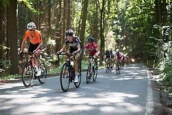 \aafsoe of Parkhotel Valkenburg - Destil Cycling Team rides mid-pack on the climb leading to Moschlitz on Stage 1 of the Lotto Thuringen Ladies Tour - a 124.8 km road race, starting and finishing in Schleiz on July 13, 2017, in Thuringen, Germany. (Photo by Balint Hamvas/Velofocus.com)