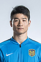 **EXCLUSIVE**Portrait of Chinese soccer player Ji Xiang of Jiangsu Suning F.C. for the 2018 Chinese Football Association Super League, in Nanjing city, east China's Jiangsu province, 23 February 2018.