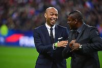 Thierry HENRY / Marcel DESAILLY - 26.03.2015 - France / Bresil - Match Amical<br />