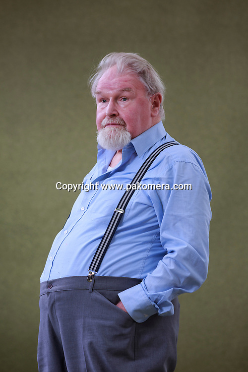 Alasdair Gray<br /> Edinburgh International Book Festival 2014 photos taken in Charlotte Square Gardens. Edinburgh. Pako Mera 12/08/2014