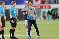 Fotball , 5. august 2019 , Eliteserien<br /> Strømsgodset - Bodø Glimt<br /> Jakob Glesnes, Strømsgodset<br /> Henrik Pedersen, Strømsgodset<br /> Foto: Christoffer Hansen , Digitalsport