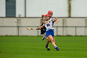 24/09/2016, Intermediate Camogie Final at Trim.<br /> Boardsmill vs Dunderry<br /> Aoife Minogue (Dunderry) & Sarah Bagnall (Boardsmill)<br /> Photo: David Mullen /www.cyberimages.net / 2016<br /> ISO: 800; Shutter: 1/1328; Aperture: 4; <br /> File Size: 2.5MB<br /> Print Size: 8.6 x 5.8 inches