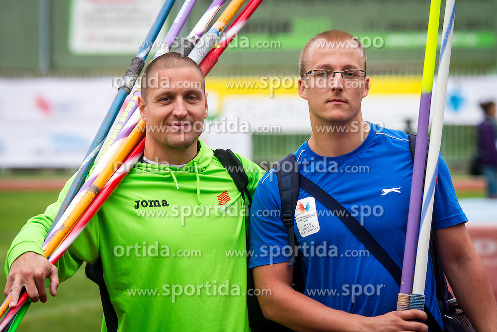 Matija Kranjc and Dejan Mileusnic at 2th Balkanation on 26th September in Velenje, Slovenia. Photo by: Peter Kastelic/Sportida