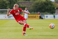 Flo Allen of Bristol City Women in action - Mandatory byline: Rogan Thomson/JMP - 09/07/2016 - FOOTBALL - Stoke Gifford Stadium - Bristol, England - Bristol City Women v Milwall Lionesses - FA Women's Super League 2.