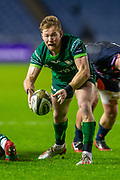 Kieran Marmion (#9) of Connacht Rugby during the Guinness Pro 14 2019_20 match between Edinburgh Rugby and Connacht Rugby at BT Murrayfield Stadium, Edinburgh, Scotland on 21 February 2020.