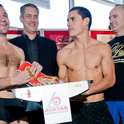 20100408: SLO, Official weighing of Dejan Zavec-Jan Zaveck and Rodolfo Ezequiel Martinez