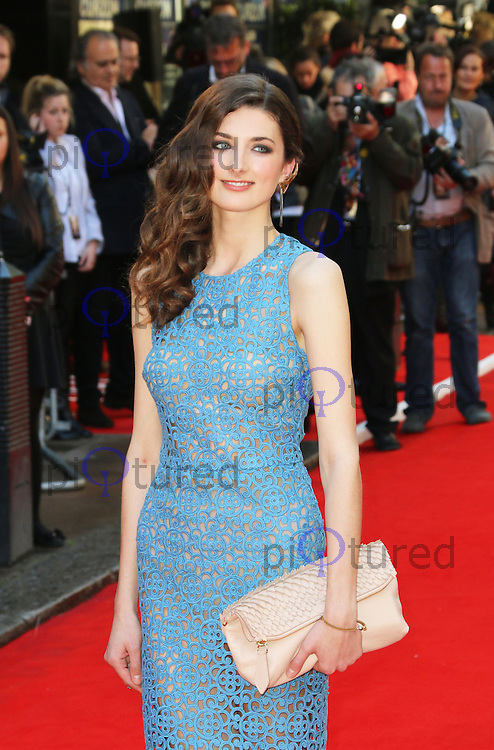 Daisy Bevan, Two Faces Of January - UK Film Premiere, Curzon Mayfair, London UK, 13 May 2014, Photo by Richard Goldschmidt