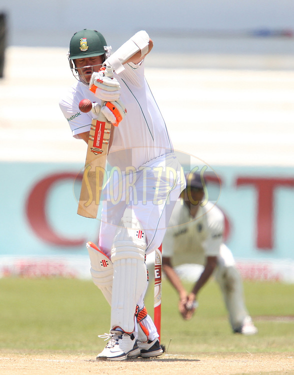 Paul Harris during day 4 of the second test match between South Africa and India held at Kingsmead Stadium in Durban on 29th December...Photo by Steve Haag/BCCI/SPORTZPICS