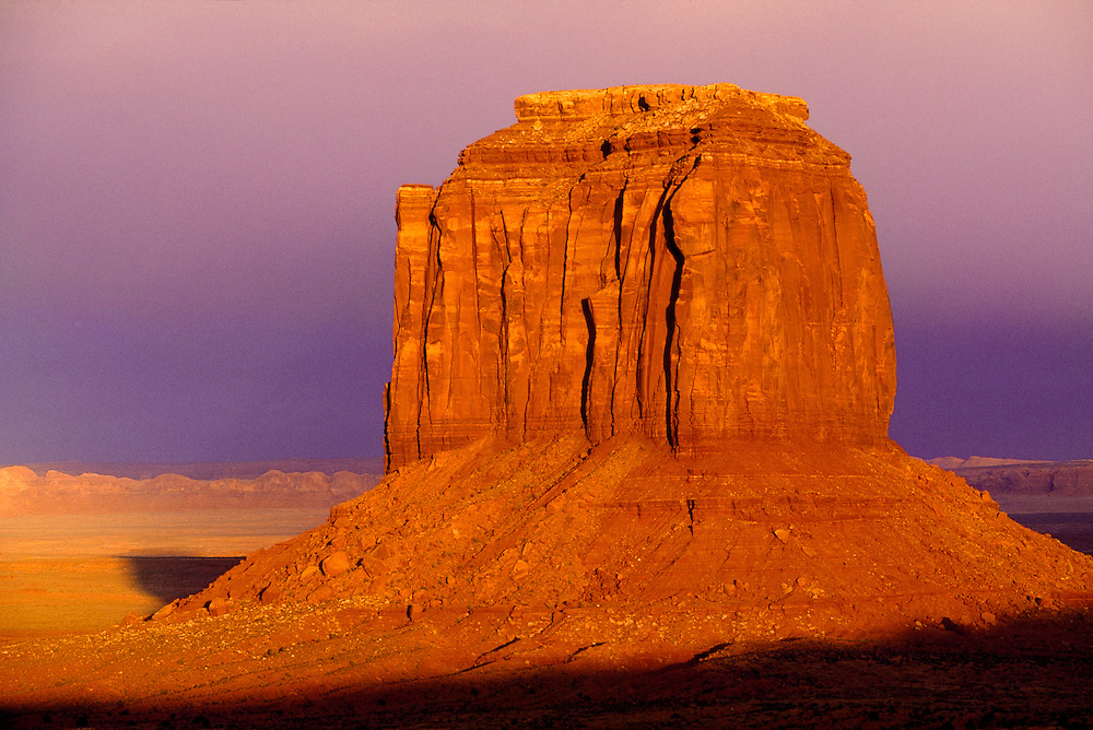 Merrick Butte is one of the main buttes in Monument Valley, Utah.