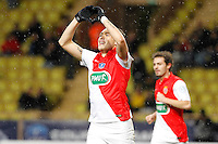 Joie Monaco - Lucas Ocampos - 21.01.2015 - Monaco / Evian Thonon - Coupe de France <br />Photo : Sebastien Nogier / Icon Sport