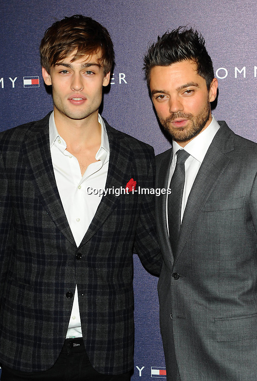 Douglas Booth & Dominic Cooper attend the opening of the new Tommy Hilfiger store on in London on Thursday 1st December 2011. Photo by: i-Images