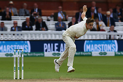 August 12, 2018 - London, Greater London, United Kingdom - England's Chris Woakes .during International Test Series 2nd Test 4th day  match between England and India at Lords Cricket Ground, London, England on 12 August  2018. (Credit Image: © Action Foto Sport/NurPhoto via ZUMA Press)