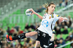Andrea Penezic of Vardar during handball match between RK Krim Mercator (SLO) and WHC Vardar SCBT (FYR of Macedonia) in Round #6 of Main Round of EHF Women's Champions League 2014/15, on March 6, 2015 in Arena Stozice, Ljubljana, Slovenia. Photo by Vid Ponikvar / Sportida