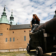 Construction of Kalmar Castle started in the 12th Century and was completed by King Gustav I in the 16th Century.<br /> Photography by Jose More<br /> MR Model Release