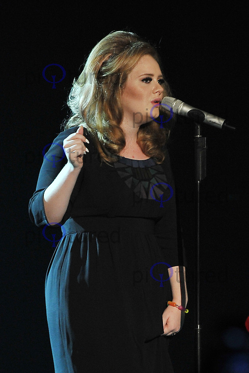 Adele performs at HMV Hammersmith Apollo, London, UK. 19 September 2011 Contact: Rich@Piqtured.com +44(0)7941 079620 (Picture by Awais Buttt)