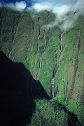 Mt. Waialeale (wettest spot on earth), Kauai, Hawaii<br />