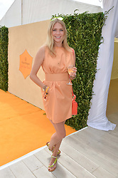 JODIE KIDD at the Veuve Clicquot Gold Cup Final at Cowdray Park Polo Club, Midhurst, West Sussex on 20th July 2014.