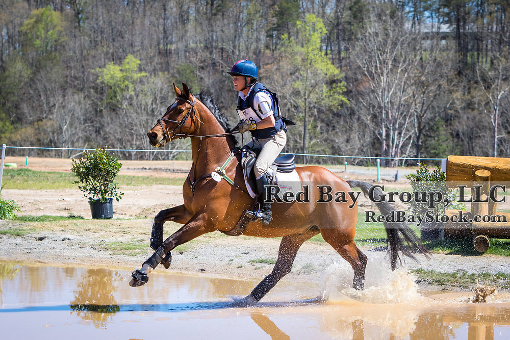 Ashley MacVaugh and Reuben Rialto at The Fork Horse Trials at the Tryon International Equestrian Center in Millbrook, North Carolina.