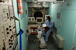 Photo taken on April 7, 2016 shows the interior of a model of Mir space station at the Museum of Cosmonautics in Moscow, Russia. The Museum of Cosmonautics opens its doors to public on April 10th, 1981, 20th Anniversary of the first manned space flight. Museum exposition gives a retrospect on how space science evolved starting from first man-made satellites subsequently followed by the first manned space flight, first space walks, Moon exploration programs, Solar system exploration programs and international space research programs. EXPA Pictures © 2016, PhotoCredit: EXPA/ Photoshot/ Bai Xueqi<br /> <br /> *****ATTENTION - for AUT, SLO, CRO, SRB, BIH, MAZ, SUI only*****