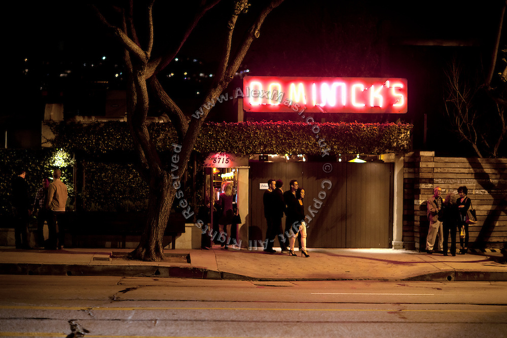 Members of the Bling Ring used to spend time at various places across central Los Angeles: Guys & Dolls (now DOMINICK'S), 8713 Beverly Blvd, CA 90048, USA.