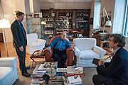 Umberto Eco intervistato da Pierre de Gasquet, e Mario Andreose, Milano dic.2015