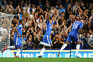 London - Wednesday September 22nd 2010: Patrick Van Aanholt of Chelsea opens the scoring and celebrates during the Carling Cup 3rd Round match at Stamford Bridge, London. (Pic by Paul Chesterton/Focus Images)