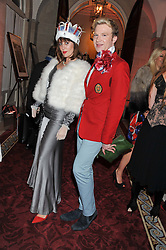 HENRY CONWAY and MARY FELLOWES at Tatler's Jubilee Party in association with Thomas Pink held at The Ritz, Piccadilly, London on 2nd May 2012.