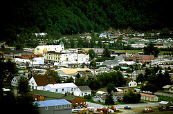 AK: Skagway, Alaska, town of Skagway   .Photo Copyright: Lee Foster, lee@fostertravel.com, www.fostertravel.com, (510) 549-2202.Image: akklon206