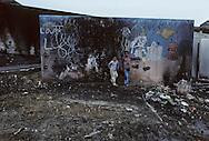 France. Marseille. the renaude , north area suburbs. gypsies  Marseille  France    /cite la Renaude  dans les quartiers nord.  Des gitans  Marseille  France  /R00015/18    L2821  /  P0004022