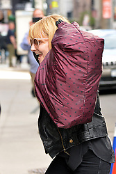 May 16, 2019 - New York, NY, USA - May 16, 2019 New York City..Melissa Rauch arriving to tape an appearance on 'The Late Show with Stephen Colbert' on May 16, 2019 in New York City. (Credit Image: © Kristin Callahan/Ace Pictures via ZUMA Press)