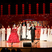 Wang Beibei is a opera singer performs at the 2020 China-Britain Chinese New Year Extravaganza with 200 performers from over 20 art groups from both China and the UK showcase at Logan Hall on 18th January 2020, London, UK.